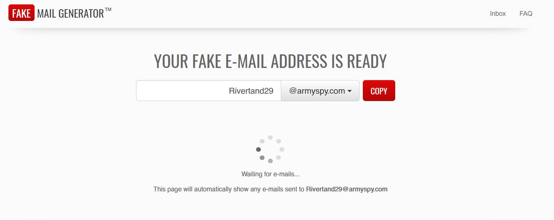 временная почта