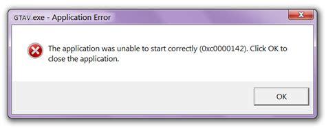 Error-0xc0000142