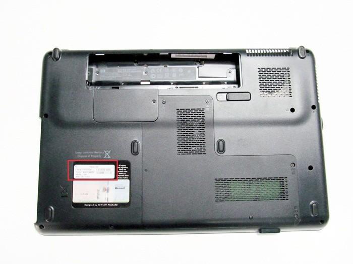 Узнаем название модели на ноутбуке Compaq