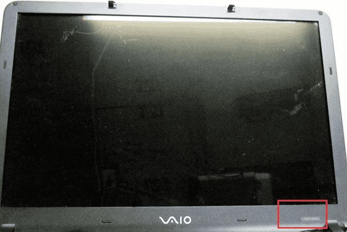 Узнаем название модели на ноутбуке Sony