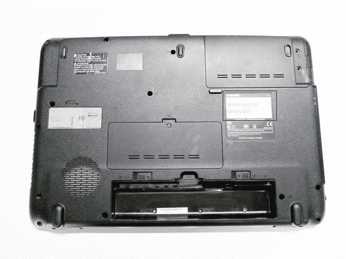 Узнаем название модели на ноутбуке Toshiba