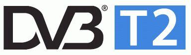 Логотип DVB T2