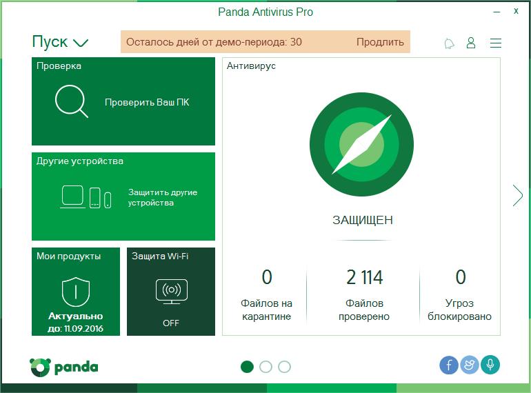 Антивирус Panda